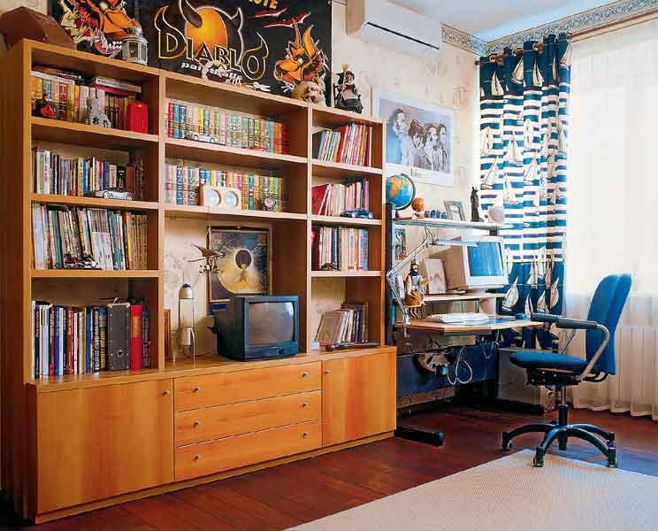 библиотека в детской