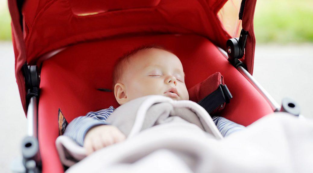 спит младенец